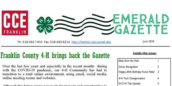 June 2020 Emerald Gazette