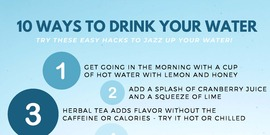 10 ways to get your water