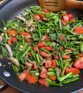 Asparagus Tomato Stir Fry
