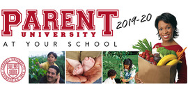 cover of parent university brochure