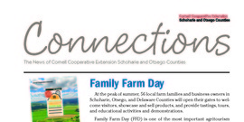 Cover page of the July/August 2018 issue of Connections