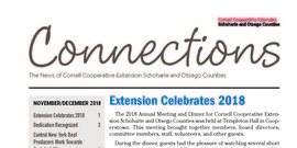 Cover Page of the November/December 2018 issue of Connections