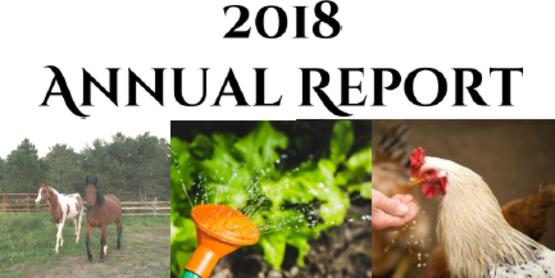 2018 CCE Chautauqua Annual Report