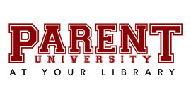 Parent University at your library logo
