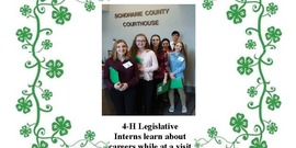 Cover page of the April 2019 issue of theSchoharie County 4-H Newsletter.