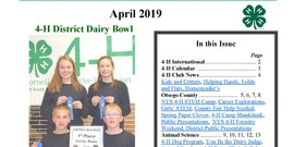 Power of YOUth Newsletter - April 2019