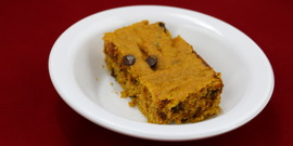 Chocolatey Pumpkin Bars