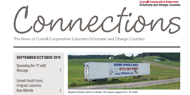 Cover page of the September/October 2019 Issue of Connections