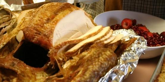 Carving turkey, Thanksgiving