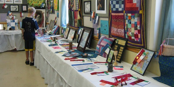 Craft display, 4-H Fair 2013, Tompkins County NY