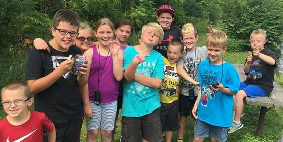 Camp Akalaka goes Geocaching 4-H STEM 2016