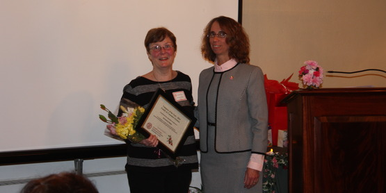 2014 Family and Consumer Sciences Volunteer of the Year Pat Severson-Wager