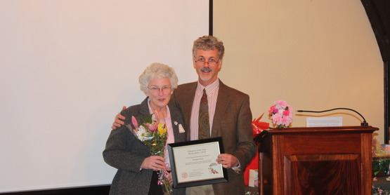 2014 Horticulture Volunteer of the Year Elizabeth Holmes