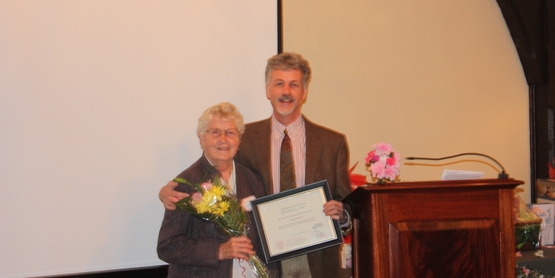 2014 Horticulture Volunteer of the Year Christl Schmidt