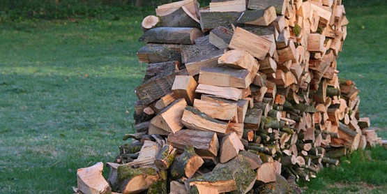 Never burn anything other than clean, dry firewood in a wood stove.