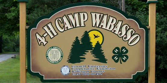 Camp Wabasso sign