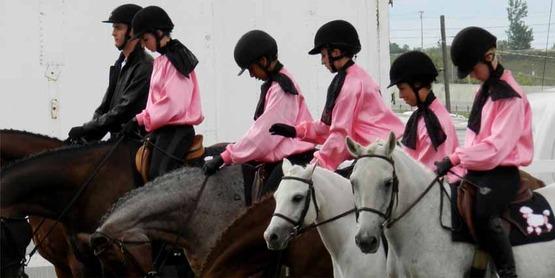 riders & horses, Chenango County 4-H, Sept. 2014
