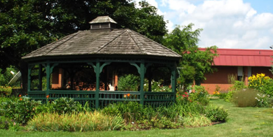 Gazebo at CCE Albany County