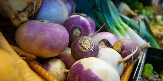 turnips & leeks