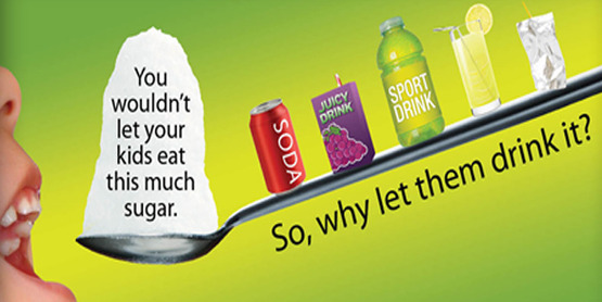 Reduce Sugar Sweetened Beverages
