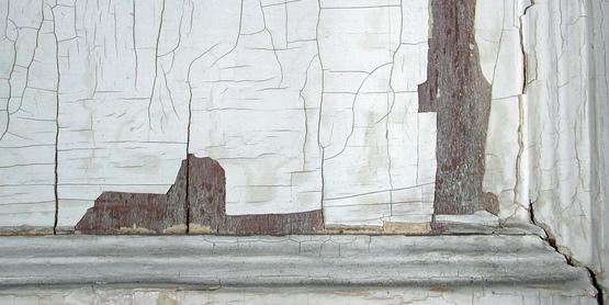 Lead Paint peeling
