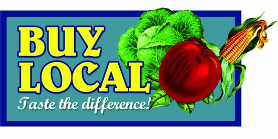 Buy Local logo used by CCE-Tompkins