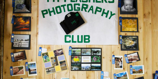 4-H Photography Club exhibit