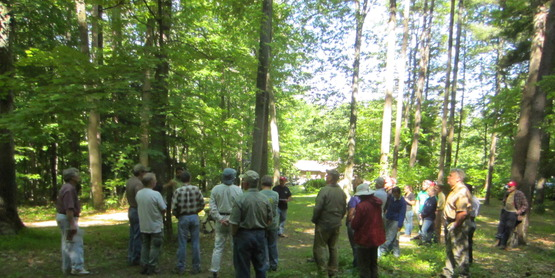 Master Forest Owners Woods Walk June 2014 Del Allen's
