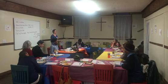 Jen Bertron from the Food Bank of the Southern Tier gave a free grant writing workshop to Elmira women at the Shabach Tabernacle Church.