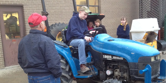 4-H Tractor Safety Class