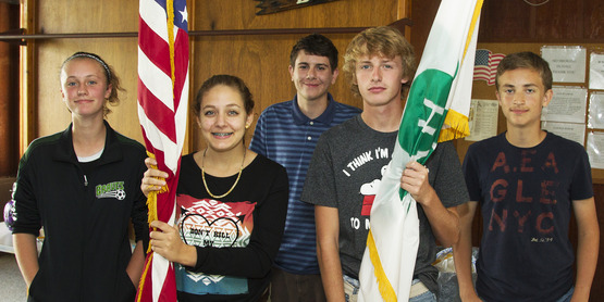 4-H Members at Achievement Day