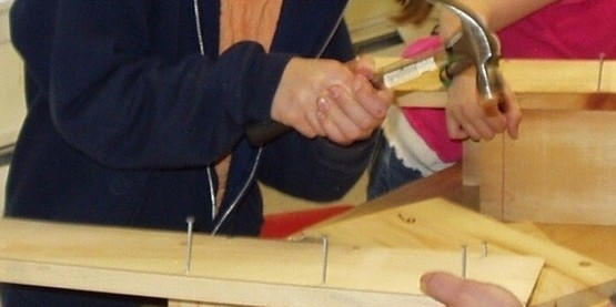 youth woodworking project