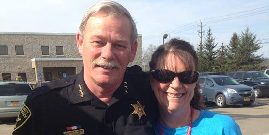 Touch a Truck-- Sheriff Gary Howard and Donna Gibson- Organizer!