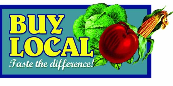 Buying locally grown foods helps our local economy.