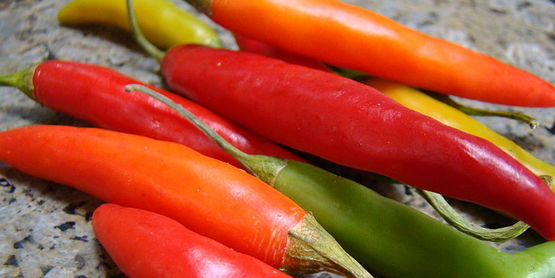 Thai chilis