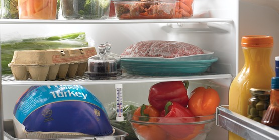 Refrigerate foods promptly - don't leave them at room temperature.