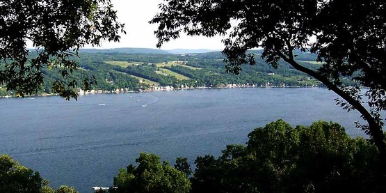 View of Keuka Lake