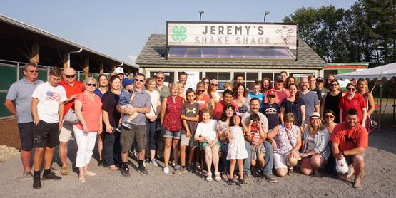 Jeremy's shack shake