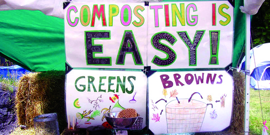 Composting really IS easy!  Visit our demo site and learn more!