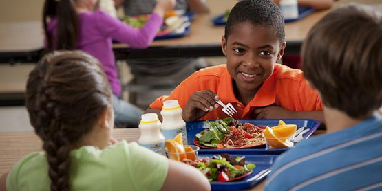 The National School Lunch Program provides healthy, low-cost or free meals each school day.