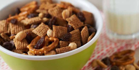 You can make your own Healthy Trail Mix, from Cooking Matters