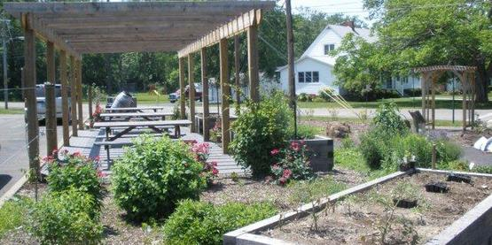 Visit our Teaching Garden in Montour Falls!