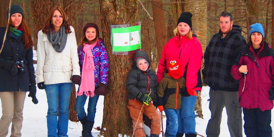 Winter StoryWalk at CCE public nature trail