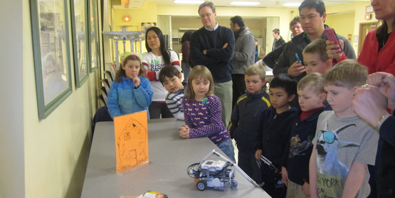 LEGO NXT Mindstorms Robotics workshop, Winter 2015