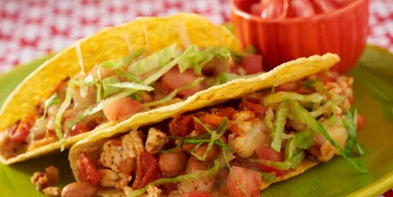 Kids love these Turkey Tacos from Cooking Matters