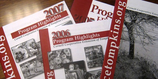 Annual Reports for Cornell Cooperative Extension of Tompkins County.