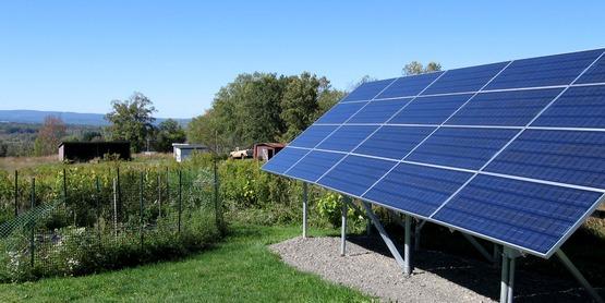Solar energy is an efficient renewable energy source