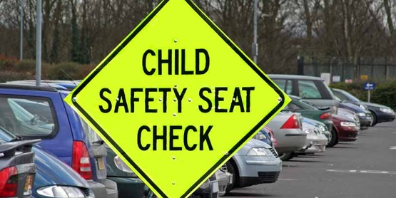 Car seat checks are held throughout the county.
