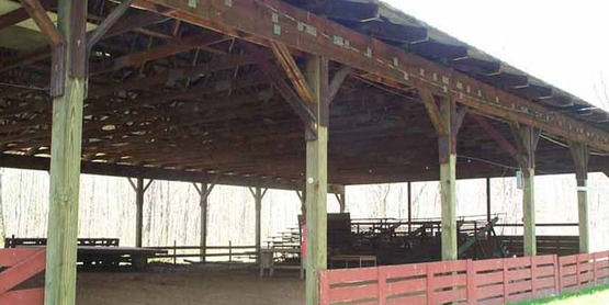 Pole Barn / Covered Storage at 4-H Acres