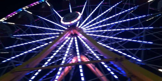 ferris wheel at NYS Fair